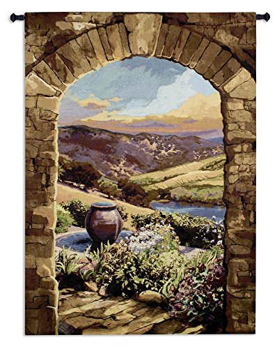 Furniture Kitchen Tuscan (Fine Art Tapestry - 6364-WH 44
