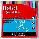 Berol Colourbroad Portrait - Rotuladores de colores (12 unidades)