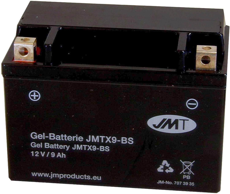 YTX9-BS JMT Gel Batterie f/ür Duke 690 R ABS Baujahr 2013-2017