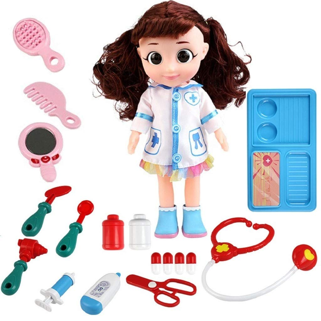 Mother's Day Wheatness Doctor Kit Kids Toys Children Play House Educational Toys Girl Doctor Role Play