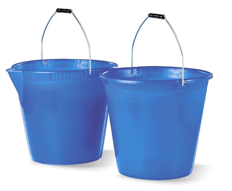 Tosend Servizi sas Secchio in plastica con becco versatore (lt. 15) misure cm 31x34x31h - colori sfusi