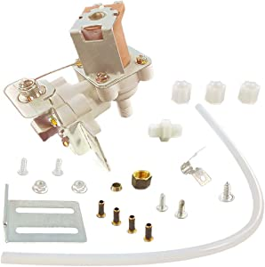 Repairwares Universal Refrigerator Water Inlet Valve Single Solenoid Coil Kit 2315576 WV8047 4318047 IMV-494 W10498976 12001415 PS358631 3456 S-86