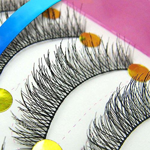 Amazon com: PyLios (TM 10pair Brand Makeup Handmade Natural False