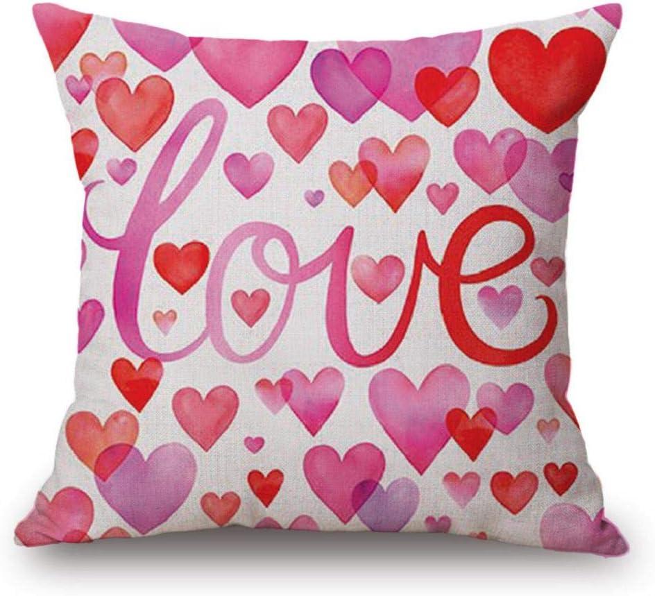 Fundas de Cojines,SHOBDW Regalo de San Valentin Throw ...