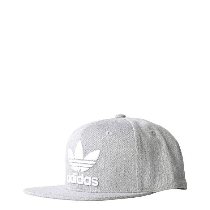 1783db0971e adidas Originals Snapback AC Cap Tre Camo B45093 Grey White Logo OSFY Youth  Kids  Amazon.ca  Clothing   Accessories