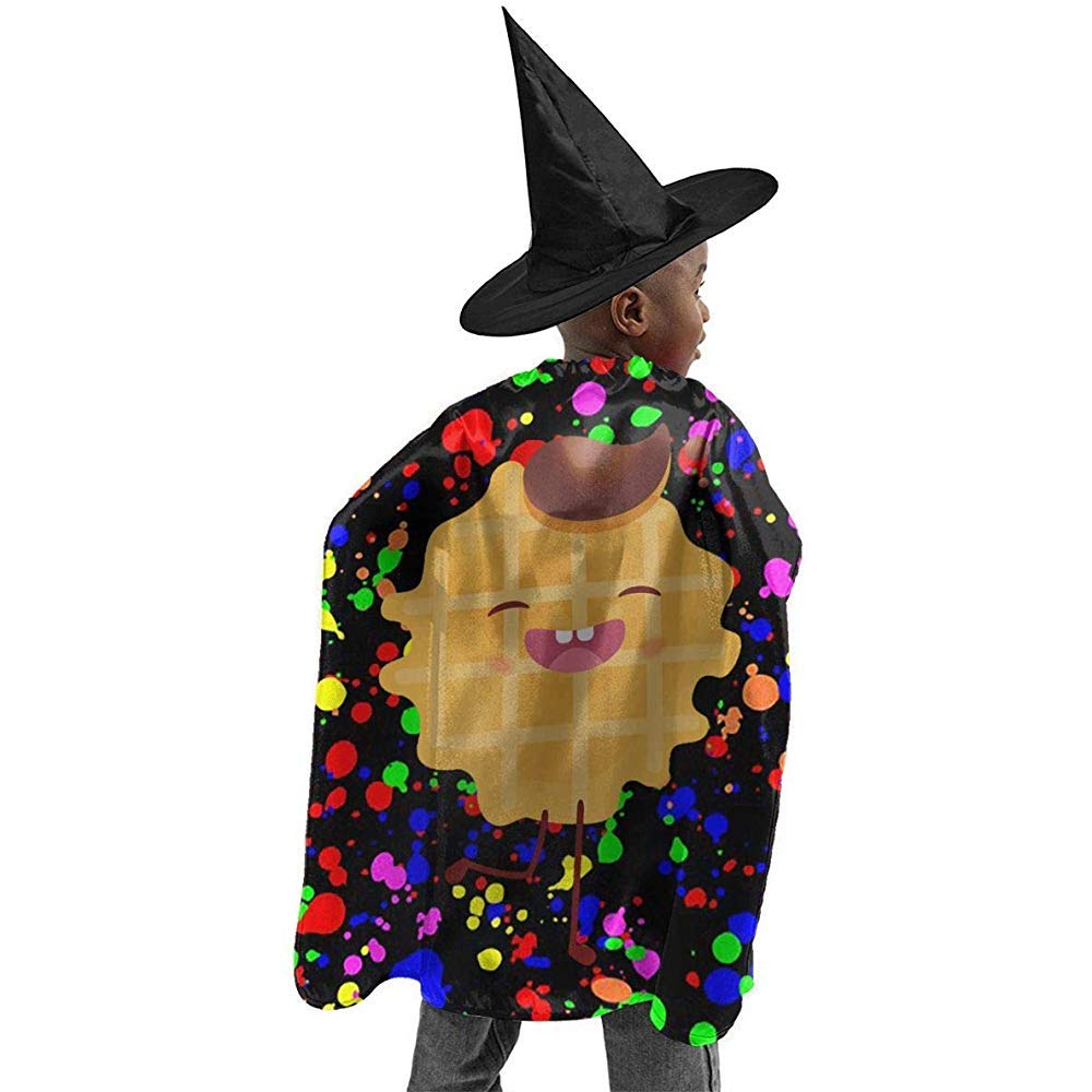lingmo Niño Niños Niñas Helado Gofre Belga Bruja de Halloween ...