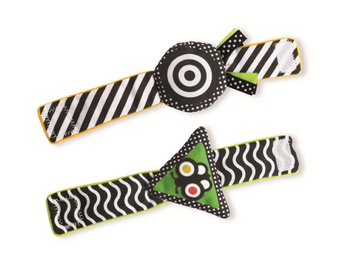 Manhattan Toy Wimmer-Ferguson Reversible Wrist Rattle Set