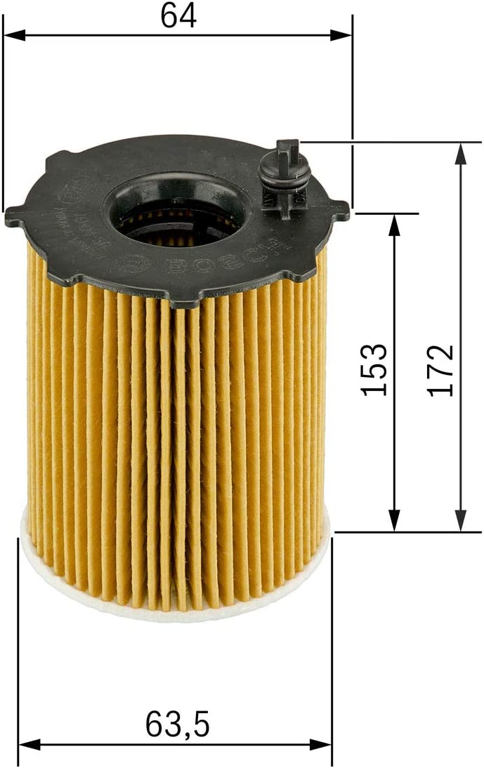 Bosch F026407072 Ölfilter Auto