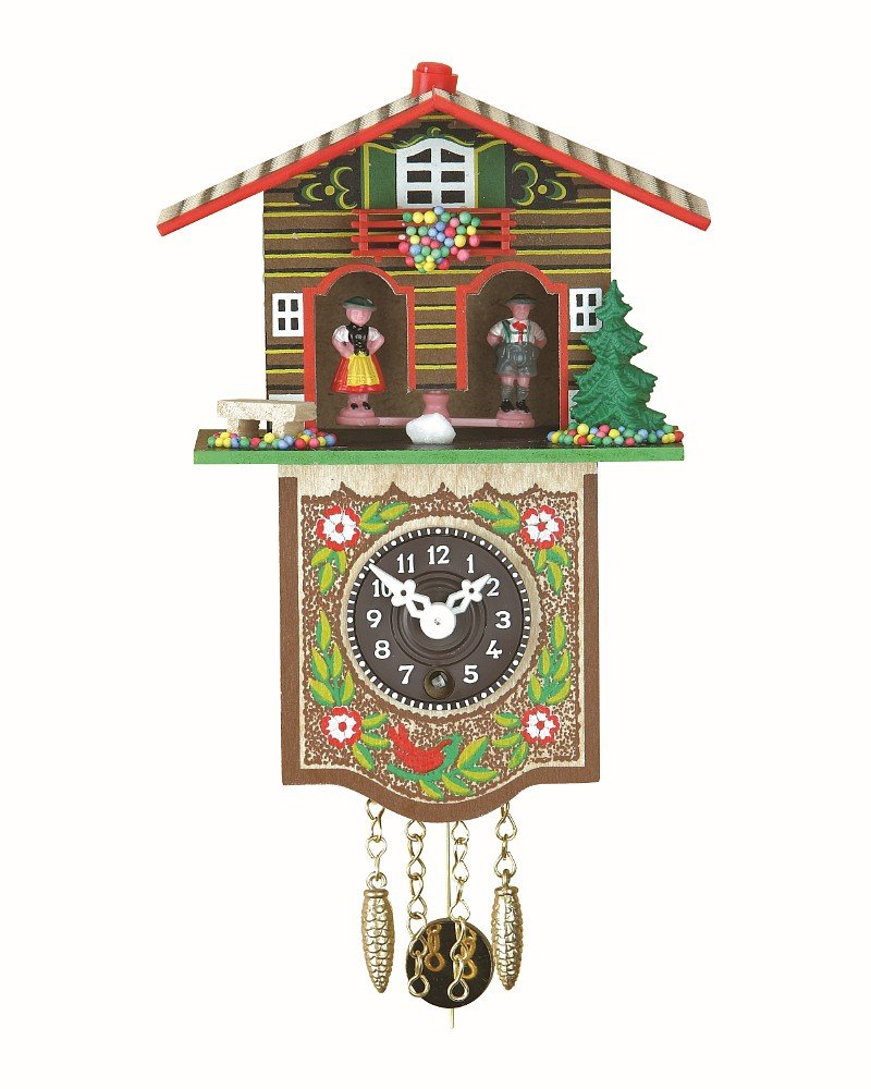 Trenkle Black Forest Clock Black Forest House Weather House TU 809 P