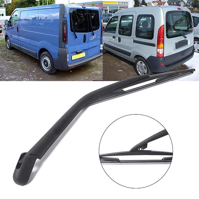 Brazo y Escobilla para limpiaparabrisas trasero KANGOO 1997 - 2007 410 mm: Amazon.es: Coche y moto