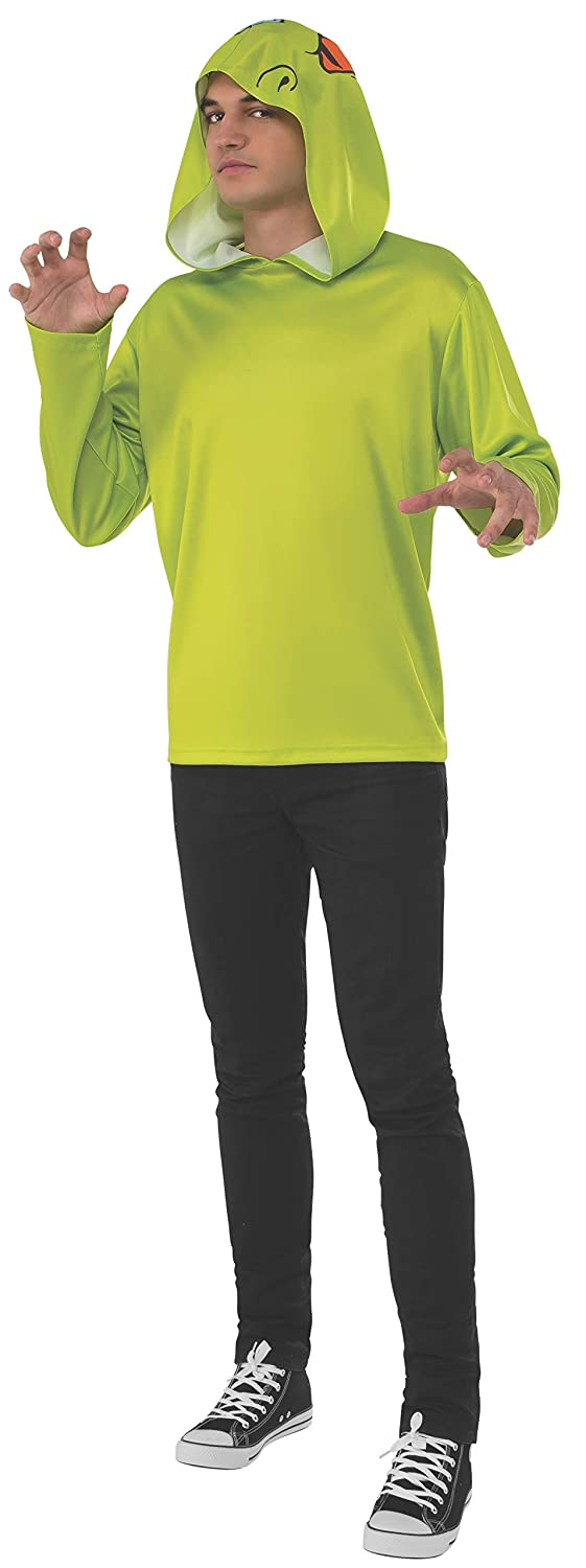 Reptar Large Rubie's Costume Co. Men's Splat Rugrats Chuckie Finster Costume Top and Headpiece