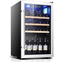 Wine Refrigerator - Wine Fridge, Cooler, 122 Bottles, Touch, 39 Db in Operation, Glass Door, Setting From 41 To 68 ° F…