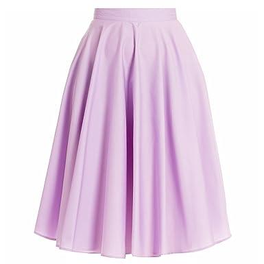 Con figura de conejo Hell 50s Vintage falda Rock Swing LILA y ...