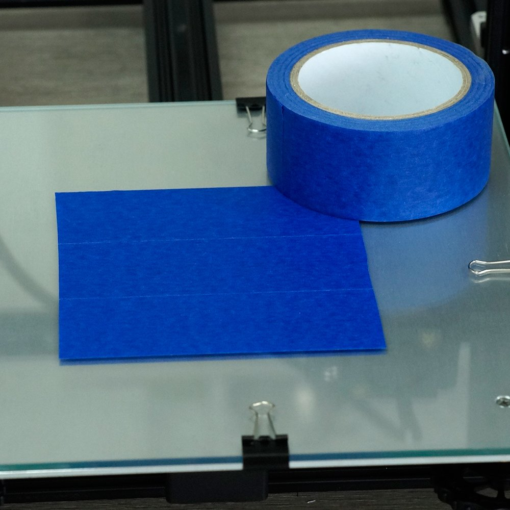 Professional Blue Painters Tape, FYSETC 1.88''/ 48mm Blue Masking Tape for Creality CR-10 10S S4 Ender 3 Glass Plate Tape 2090 Masking Tape, 30M/ 33 Yd by FYSETC (Image #5)