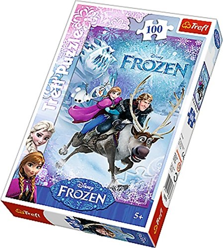 with Frozen Puzzles design