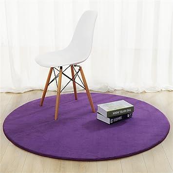 Amazon.de: AINUO Runde Teppiche für Schlafzimmer Hängekörbe Computer ...