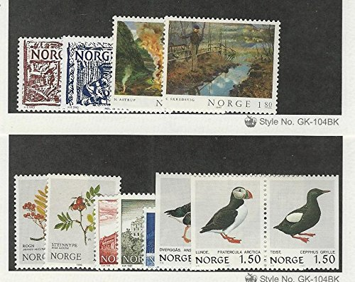 Norway, Postage Stamp, 766-769, 770-778 Mint NH, 1980-81