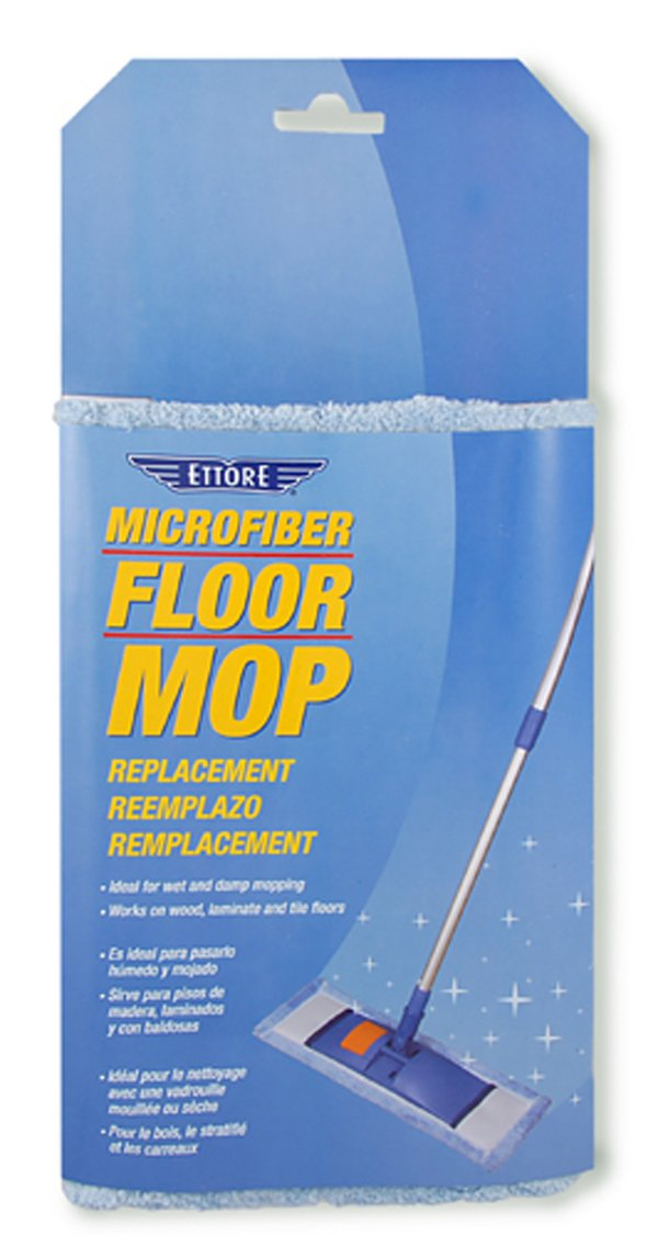 Ettore 78510 Microfiber 2-Pack Floor Mop Sleeve