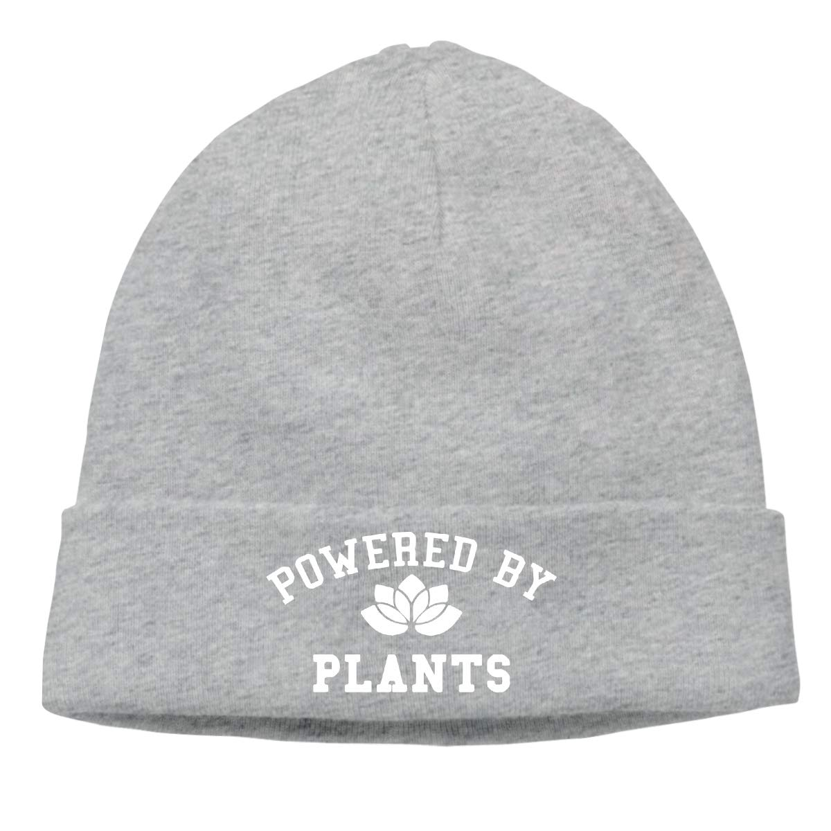 BBlooobow Unisex Powered by Plants 1 Soft Knit Beanie Caps