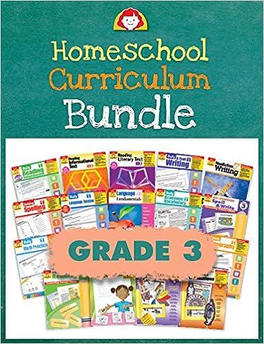 Evan Moor Homeschool Curriculum Bundle Grade 3 Complete Set