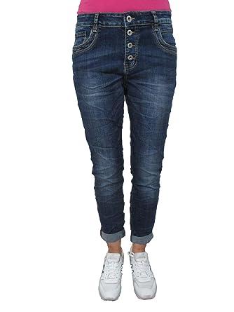 Karostar by Lexxury Denim Stretch Baggy-Boyfriend-Jeans Boyfriend 4 ... fcc0ddff8b6e