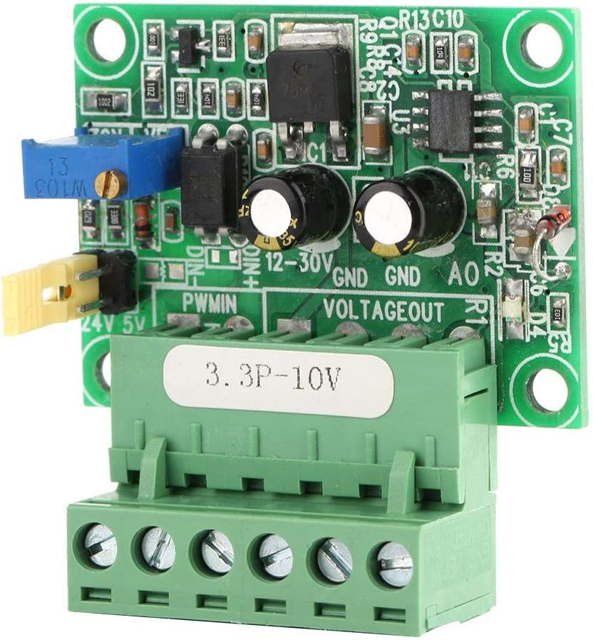 3.3V PWM Signal to 0-10V Voltage Converter D//A Digital-Analog PLC Industrial Module