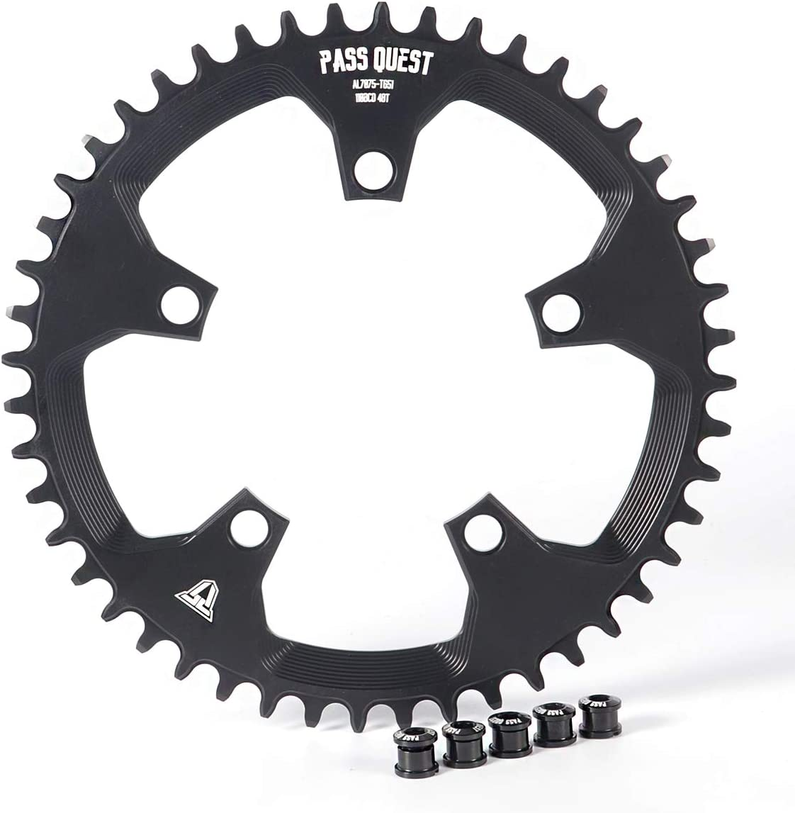 PASS QUEST 110BCD Road Bike Narrow Wide Chainring 42T-52T Bike Chainwheel for sram 3550 APEX RED