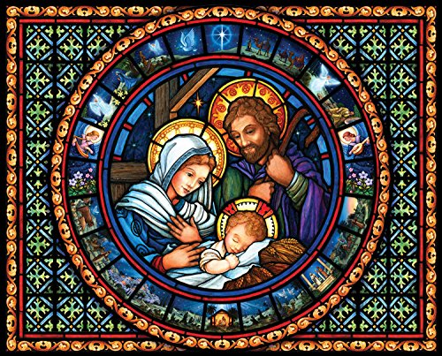 Vermont Christmas Company Holy Family Jigsaw Puzzle