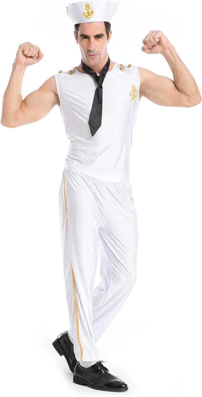 Sailor Pinup para hombre de golf con diseño de uniformes disfraz ...
