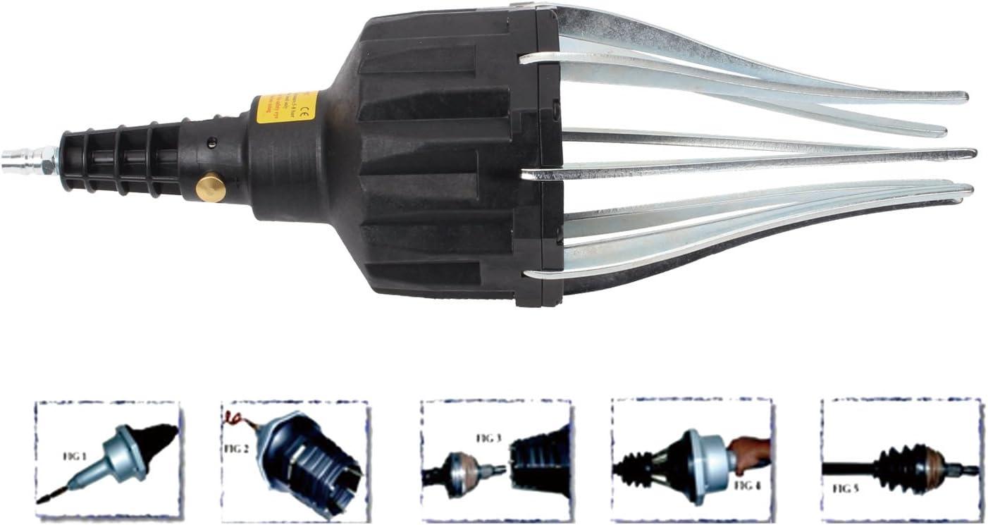 cache-poussi/ère 25-110 mm CCLIFE Extracteur pneumatique de soufflets de direction