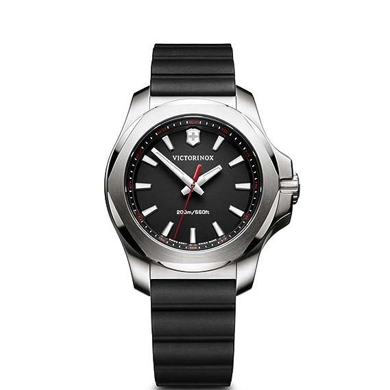 Victorinox Reloj Digital para Mujer de Cuarzo con Correa en Caucho 241768: Amazon.es: Relojes