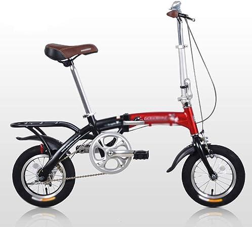 Liudan Bicicleta Plegable Adulto Bicicletas Plegables portátiles de Aluminio se Puede Colocar en el Maletero Bicicleta: Amazon.es: Hogar