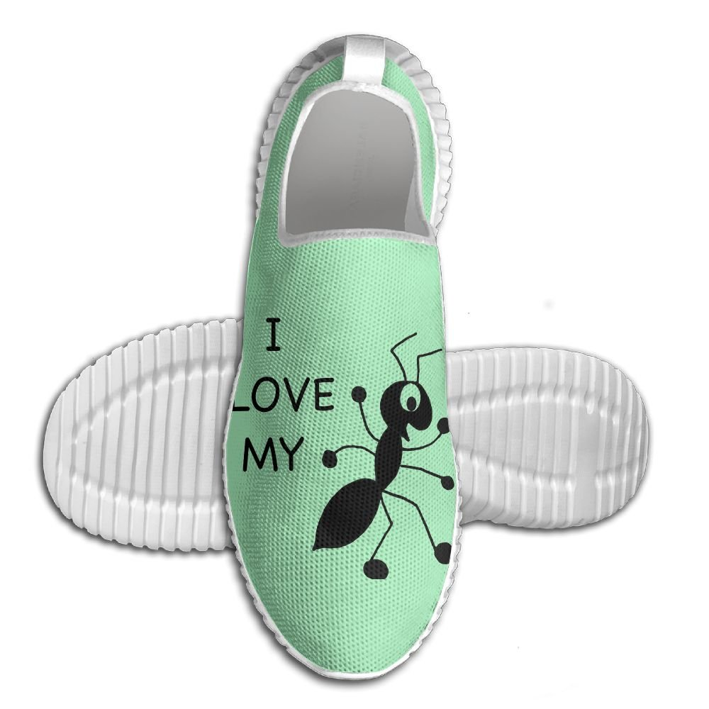 I Love My Aunt Lightweight Breathable Casual Running Shoes Fashion Sneakers Shoes