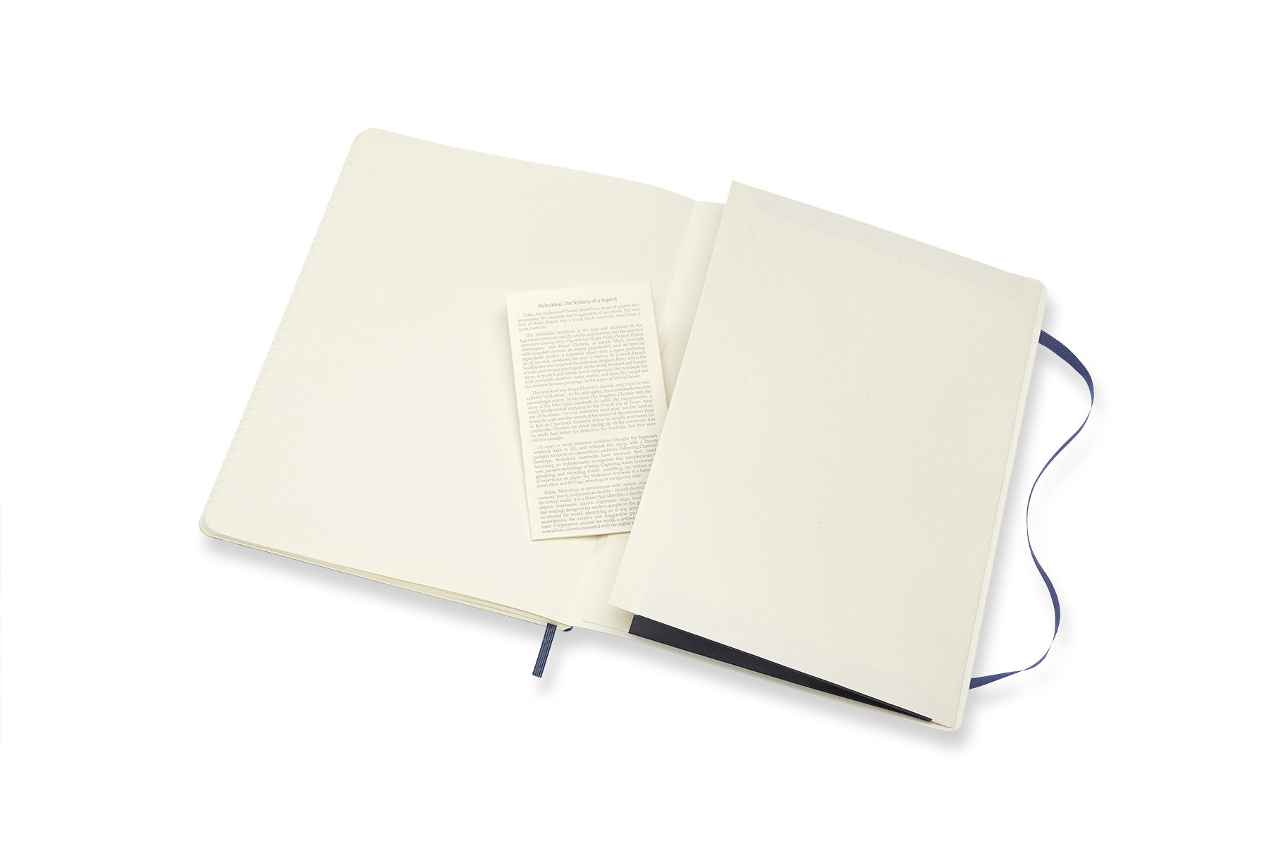 Moleskine Classic Notebook XL Ruled Sapphire Blue Softcover (8055002854771)