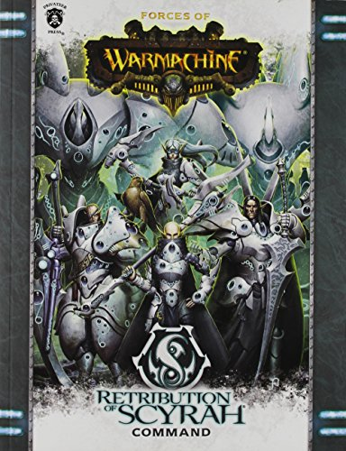 Privateer Press Forces of Warmachine: Retribution of Scyrah Command SC (Book) Miniature Game PIP1086