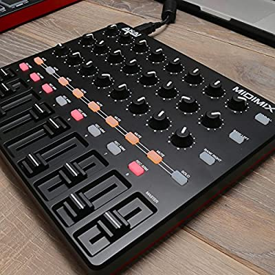 Akai Professional MIDImix | High-Performance Portable USB Mixer/DAW Controller (24 knobs / 16 buttons / 8 line faders) by inMusic Brands Inc.