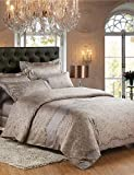 ZQ Fashion personality style Egyptian Cotton Bedding Set 4pcs Queen King Double Bed Size , king