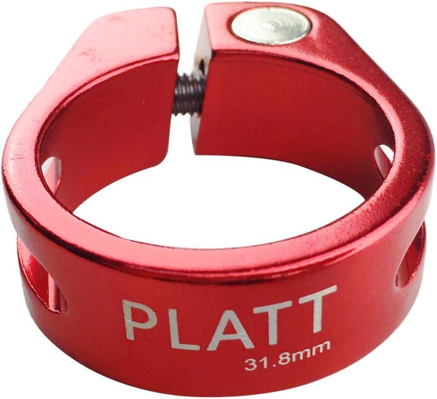 Platt Bike Seat Post Clamp Aluminium Alloy Seatpost Collar Fit for 25.4//27.2//30.8//31.6mm Bicycle seat Post
