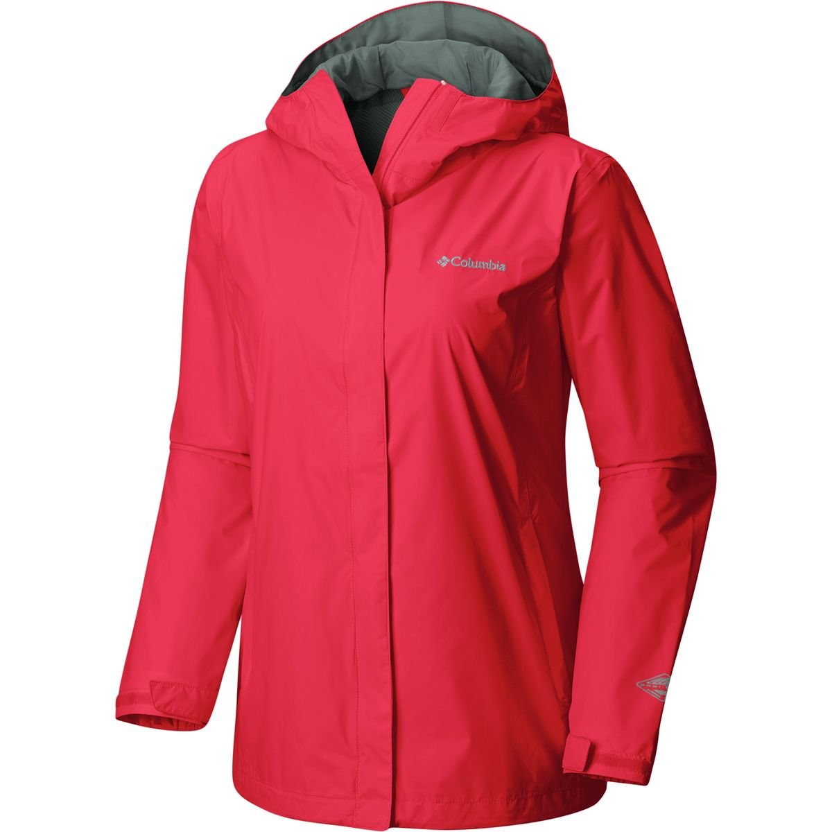 Columbia Women's Arcadia II Jacket, Red Camellia, XS