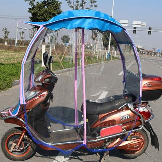 Liang Shuang Motos Canopy Paraguas Bicicleta Batería Toldo De ...