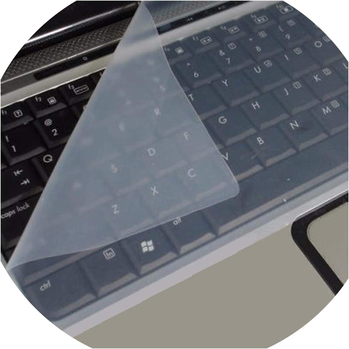 Universal Silicone Keyboard Protector Skin Compatible for Laptops Notebooks Keyboard Protector Cover Skin Guard Compatible for Keyboards