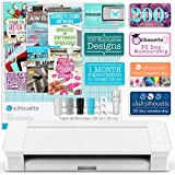 Silhouette White Cameo 4 Starter Bundle with 26