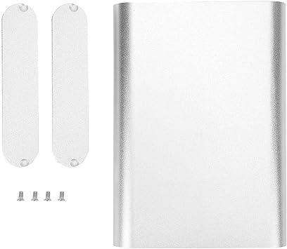 Caja de enfriamiento de aluminio, Caja electrónica de bricolaje ...