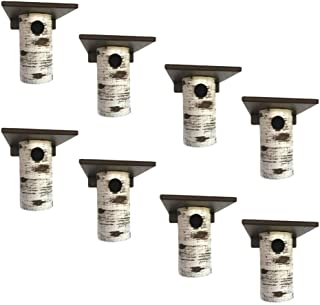product image for DutchCrafters Gilbertson Bluebird House, Outdoor Nest Box Sparrow Resistant (8 Pack)
