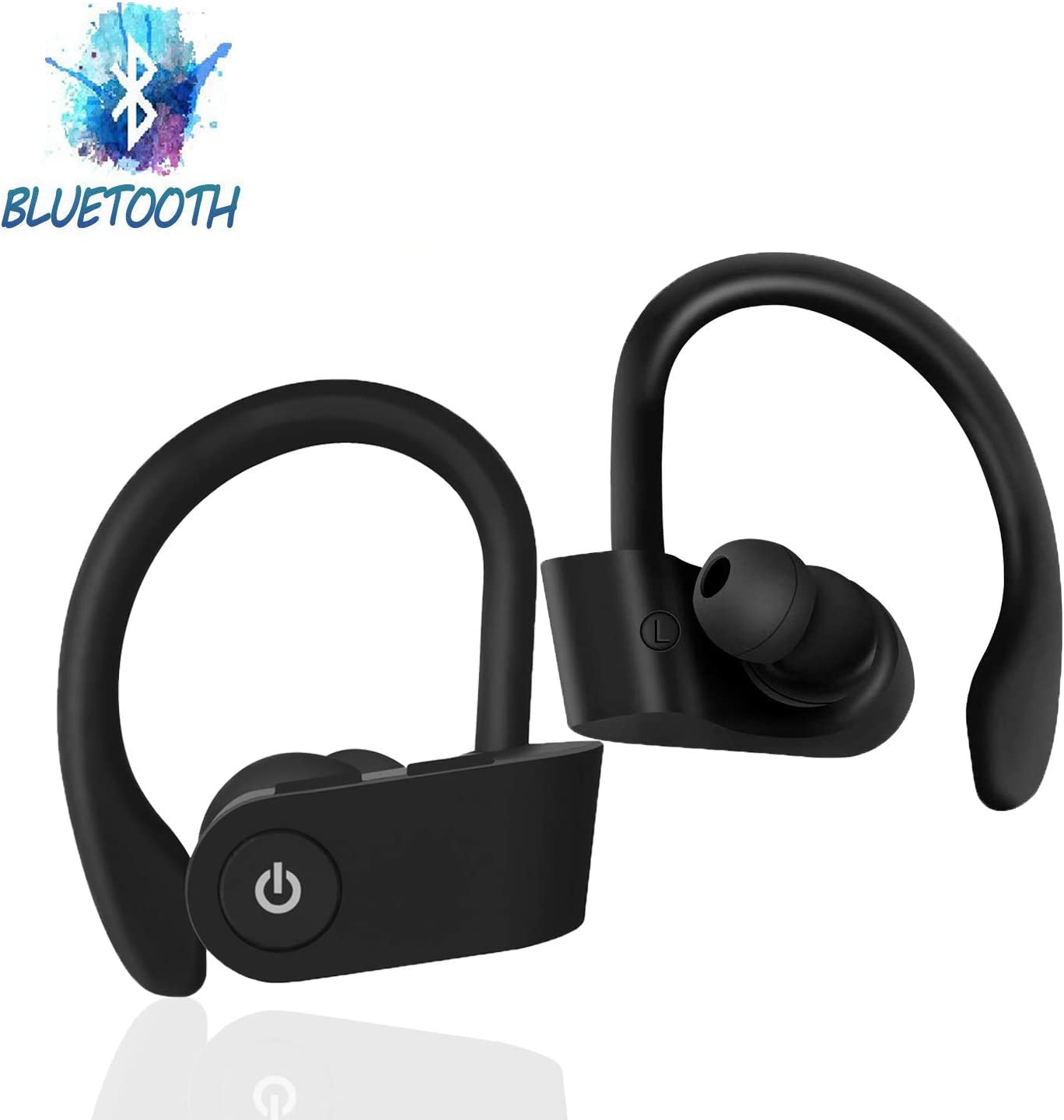 Wireless Headset Bluetooth Headset,On-Ear Headphones IPX5 Waterproof Headphones Play for a Long time, with Microphone and Stereo HD Sound Quality,for Android/iPhone