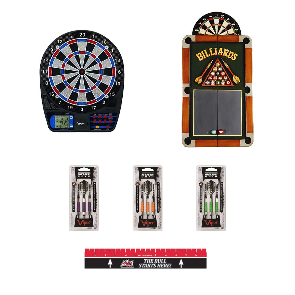 Game Room Guys Complete Electronic Dartboard Package