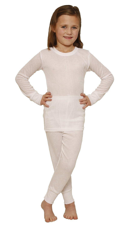 OCTAVE® Thermounterwäscheset für Mädchen: Langarmshirt & lange Unterhose
