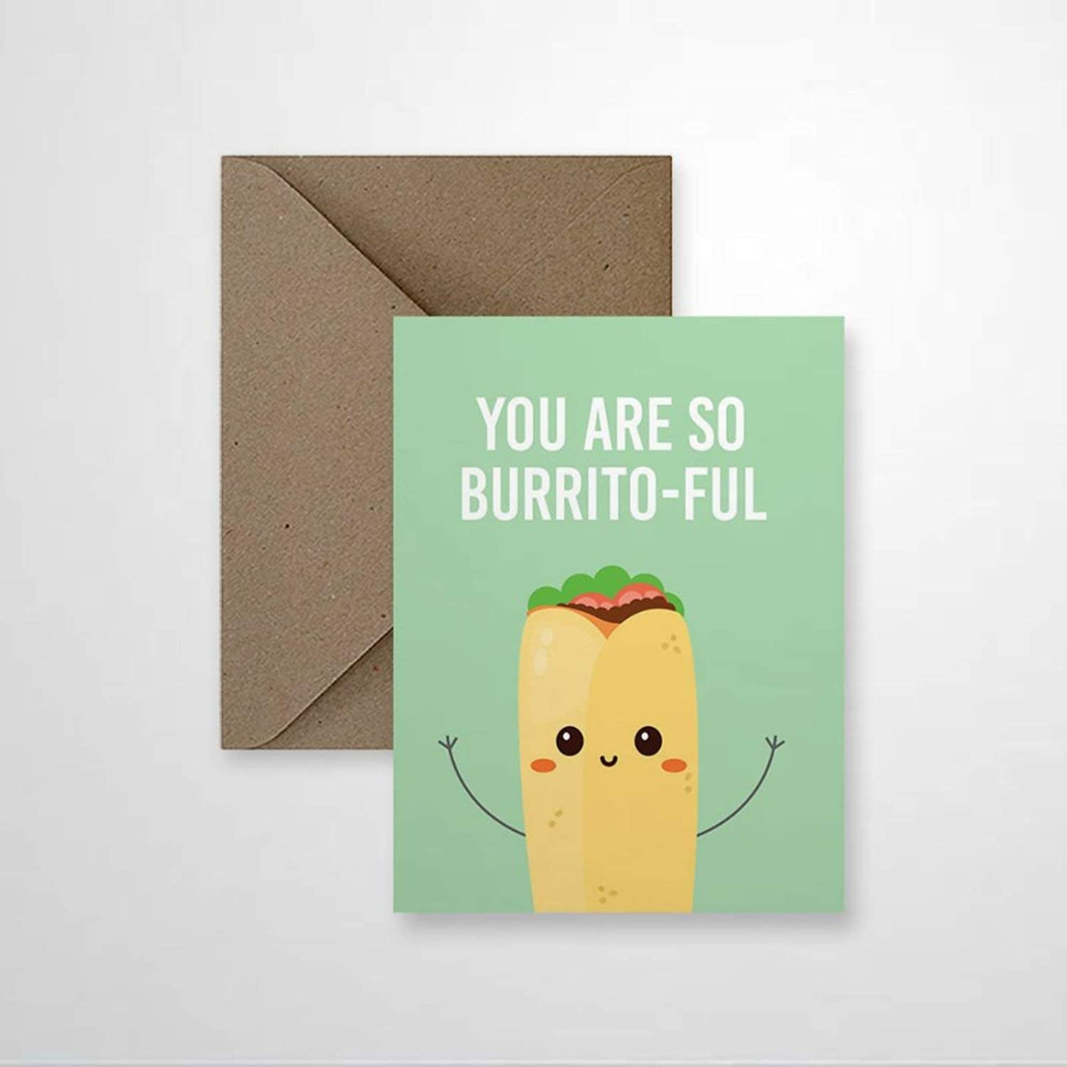 Love for Her Cute Girlfriend Pun Food Lover Greeting Cards Holiday & Seasonal Cards, Folded Easter Cards for Birthday Friendship Wedding Anniversary April Fools' Day.