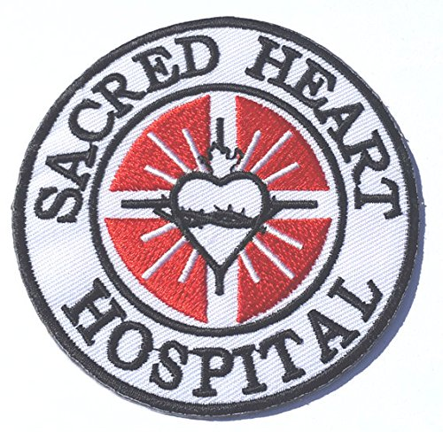 [Sacred Heart Hospital Patch Embroidered Iron/Sew on Badge - 3