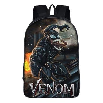 Venom Moda Mochila de impresión Mochilas Escolares Mochila Casual Mochila de Colegio Viaje Mochila para niños: Amazon.es: Equipaje